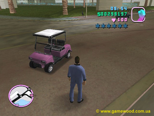Скриншот игры Grand Theft Auto: Vice City | PC | Автомобиль Caddie