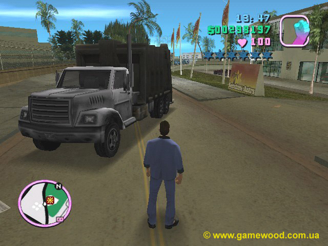 Скриншот игры Grand Theft Auto: Vice City | PC | Автомобиль Trashmaster