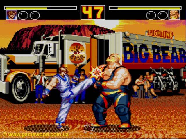 ???????? ???? Fatal Fury 2   Sega Mega Drive 2 (Genesis