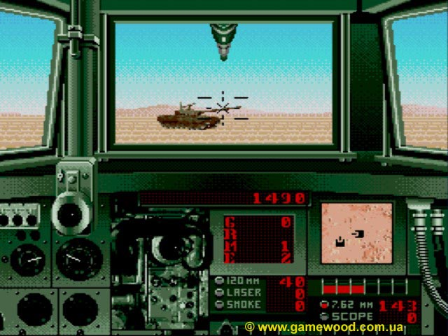 Скриншот игры Garry Kitchen's Super Battletank: War in the Gulf | Sega Mega Drive 2 (Genesis) | Еще одна медаль
