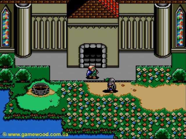 Скриншот игры Shining Force: The Legacy of Great Intention | Sega Mega Drive 2 (Genesis) | В поисках приключений